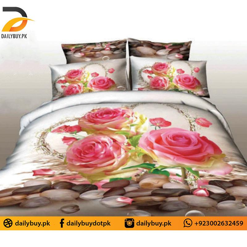 3D Digital Bed Sheet 0555