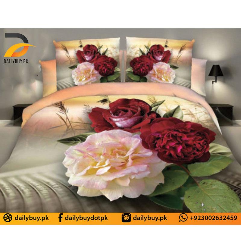 3D Digital Bed Sheet 0558