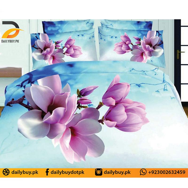 3D Digital Bed Sheet 0570