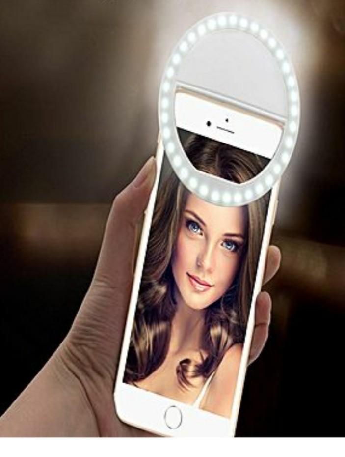 Selfie Ring Light Portable Flash Led