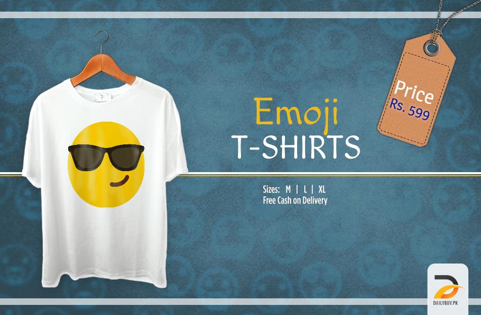 Emoji T Shirt - Summer Shades