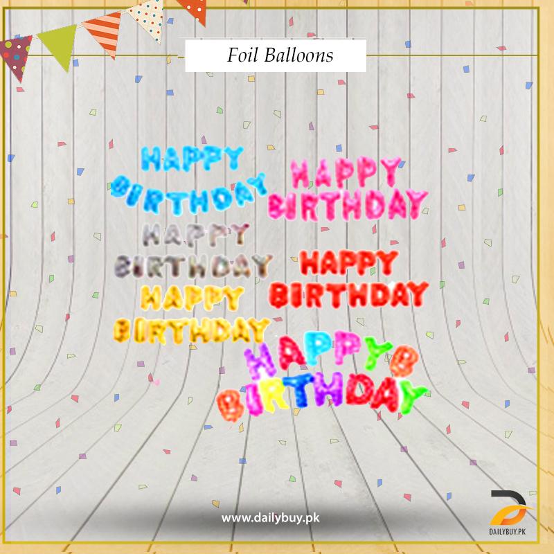 Happy Birth day  Foil Balloon