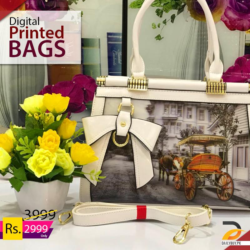 Digital Printed Hand Bags