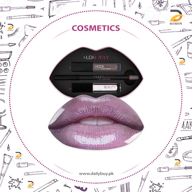 Huda Beauty Lip Box - Silver Fox