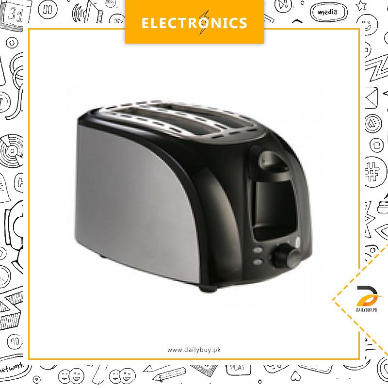 Anex Toaster 2 Slice KT-211 - Black & Grey