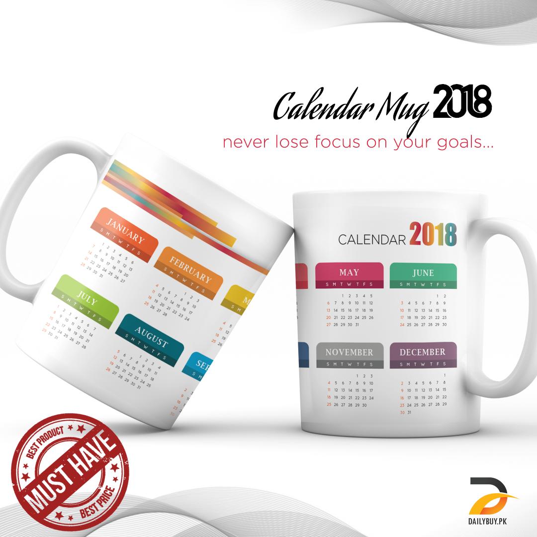Calendar Mug 2018 DBPK-NY011