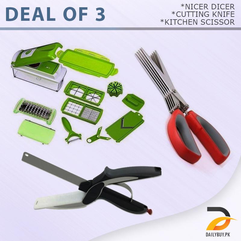 Deal Of 3 - Nicer Dicer
