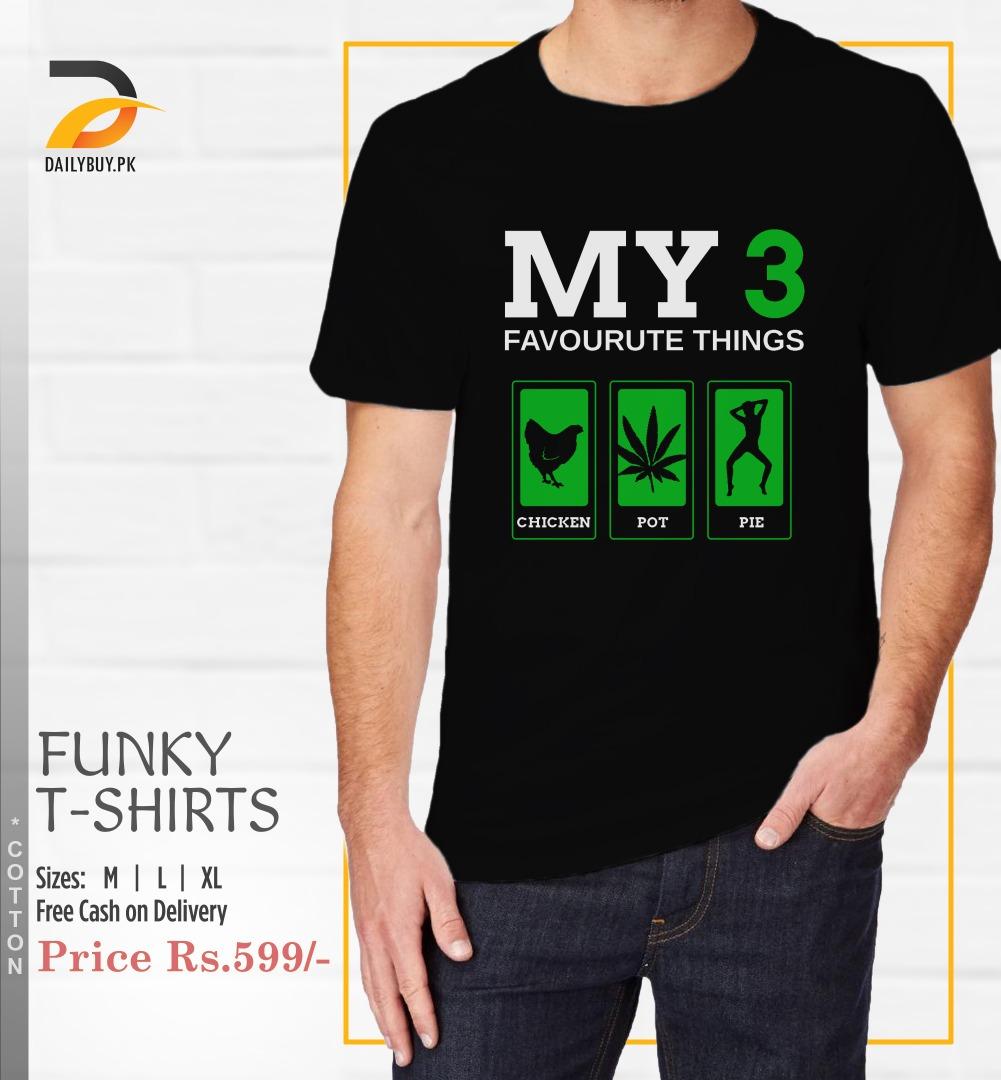 My 3 T Shirt