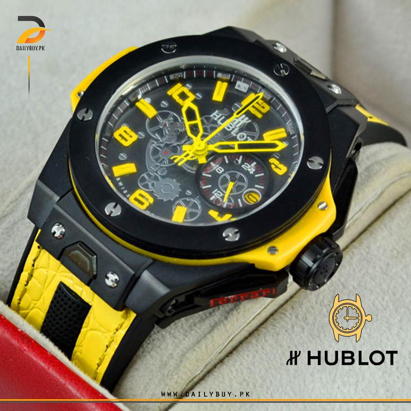 HUBLOT BIG BANG FERRARI Yellow