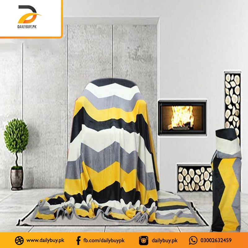 Fleece Gold Blanket FB-61