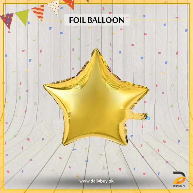 Star Shape Foil Balloon