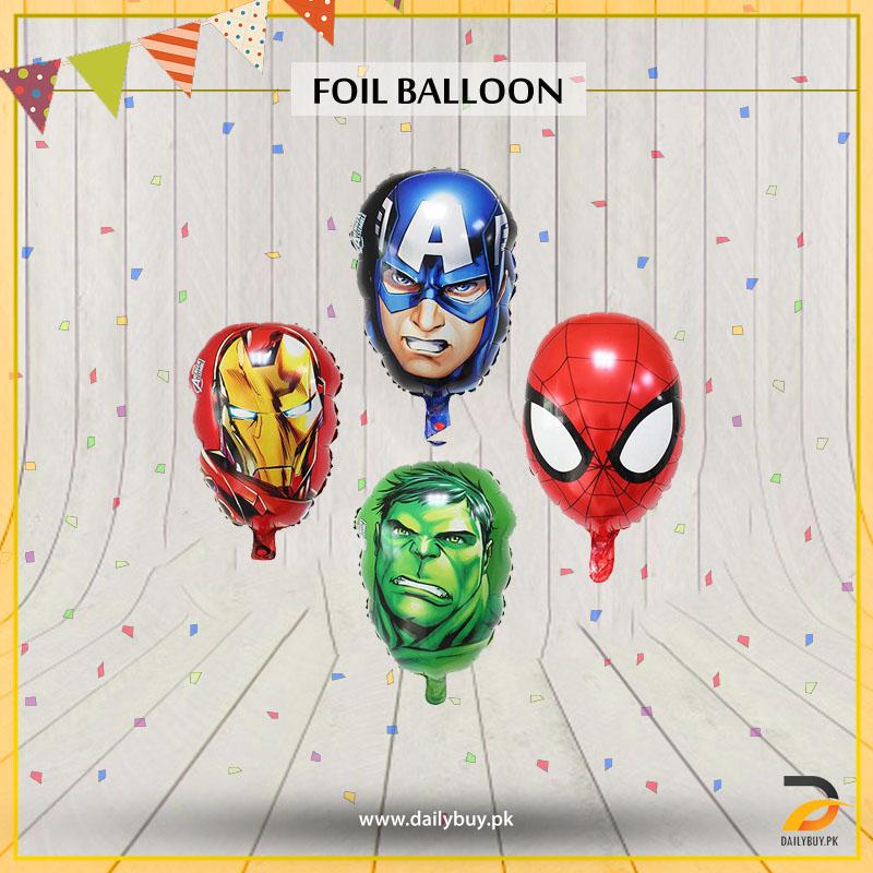 Marvel Heros Foil Balloons