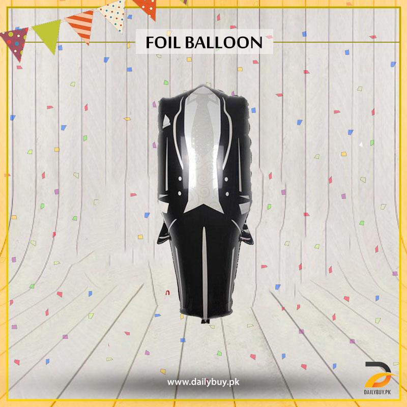 Dress Suit Foil Balloon