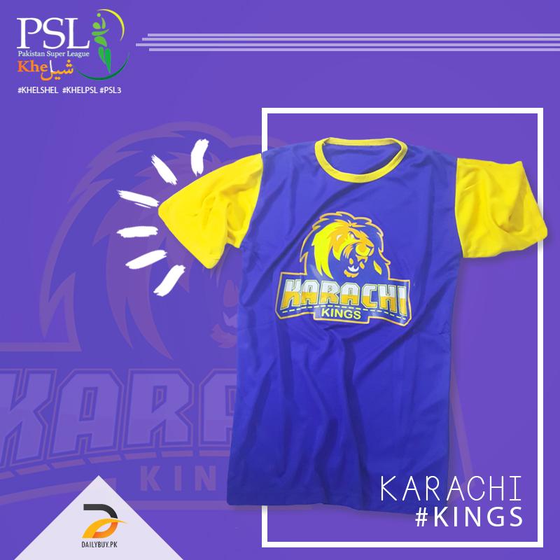 Karachi Kings T Shirt