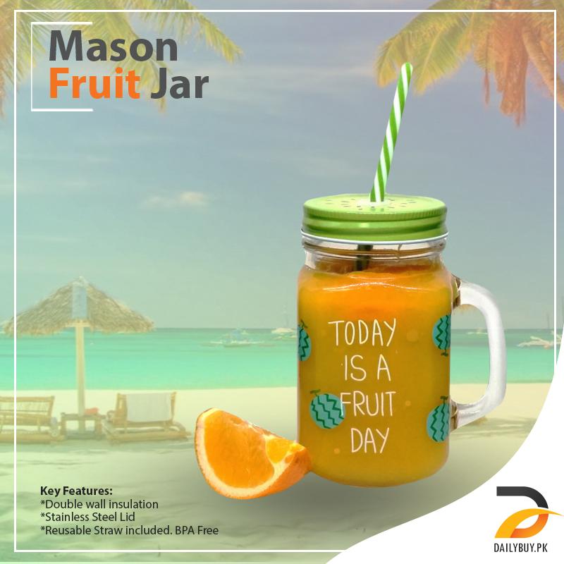 Mason Fruit Jar