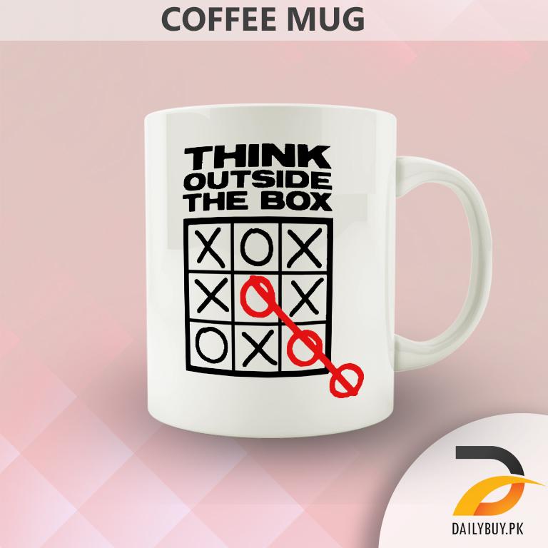 Think Outside The Box (Mug)