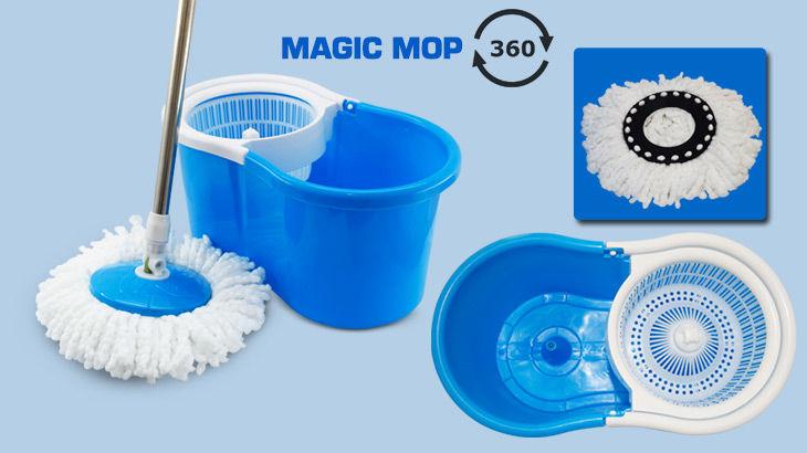 Magic Home Easy Mop - Blue