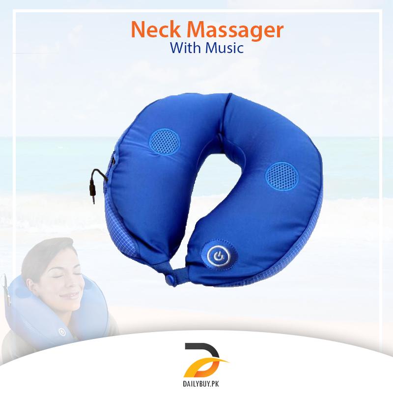 Neck Massager with Music Speaker