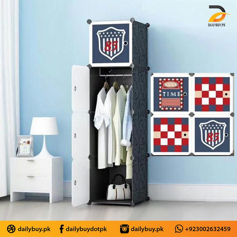 Plastic Cabinet With hanger C4