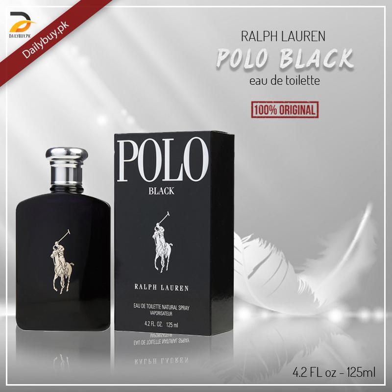 Polo Black For Men
