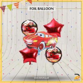 Racer Car Theme Foil Balloons
