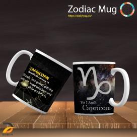 Zodiac Mug - Capricorn