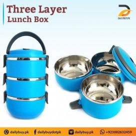 THREE LAYER LUNCH BOX