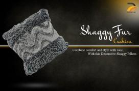 Shaggy Fur Cushion CS-08