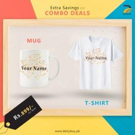 Combo Deal T Shirt + Mug