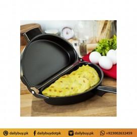 NON STICK FOLDING OMELET FRYING PAN