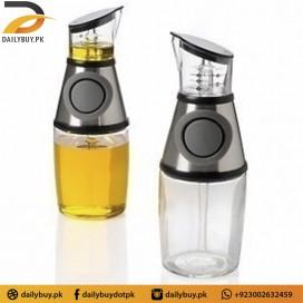 Press & Measure Oil Bottle