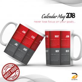 Calendar Mug 2018 DBPK-NY012