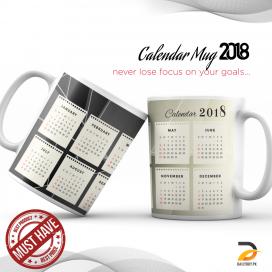 Calendar Mug 2018 DBPK-NY10