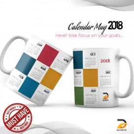 Calendar Mug 2018 DBPK-NY013