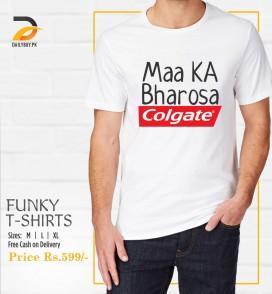 Maa Ka Bharosa T Shirt