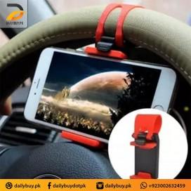 Car Steering Wheel Universal Mobile Holder
