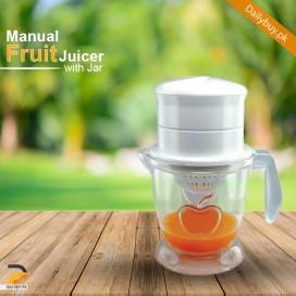 Manual Fruit Juicer With Jar