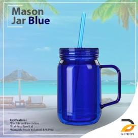 Mason Jar Blue