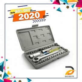 Socket Wrench Set Tool Kit - 40 Pcs
