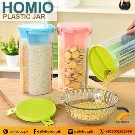 HOMIO PLASTIC JAR