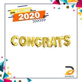 Congrats Foil Balloon
