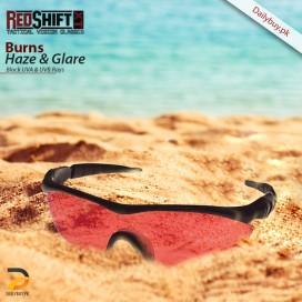 Red Shift Burns Haze And Glare